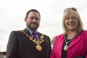 Mayor and lady mayoress 220150628