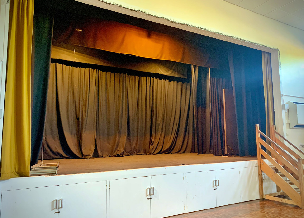 Stage Production – No Audience!